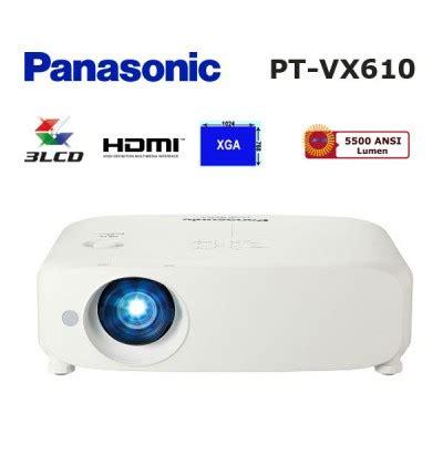 Proyektor Panasonic Pt Vx610 panasonic pt vx610 lcd projeksiyon cihazı