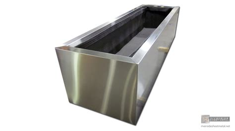 Stainless Steel Planters by Welding Detail On A Stainless Steel Planter Medford Ma