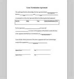 termination letter sample for leave and license agreement lease termination agreement form sample forms sample landlord lease termination letter 4 documents in
