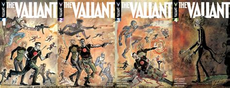 the valiant exclusive all four interlocking covers revealed for the valiant comic vine