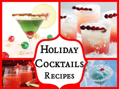 christmas cocktail recipes 20 festive holiday cocktails recipes for new year easyday