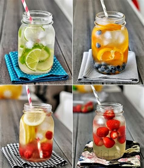 cara membuat infused water lemon dan daun mint cara membuat detox water