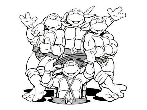 ninja turtle coloring pages google search