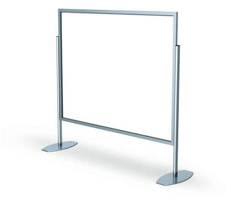 Floor Standing Tripod L Frame Stands Floor Standing Sign Holders
