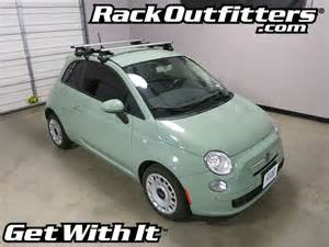 Fiat 500 Luggage Rack Rack Outfitters Fiat 500 Thule Rapid Traverse Silver