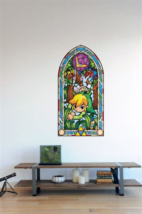 glass wall stickers the legend of stained glass wall decals