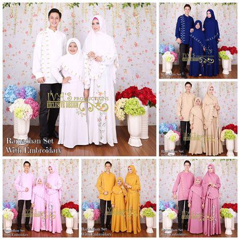 Gamis Set Khadijah Satu Set ramadhan set with embroidary by iva s production
