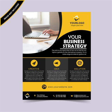 flyer layout exles black tag graphic design templates free download wisxi com