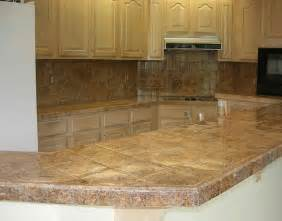 kitchen countertop tile ideas the ceramic tile kitchen countertops for your home
