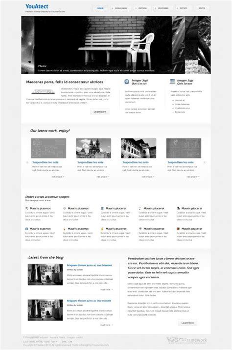 youatect architect portfolio joomla template