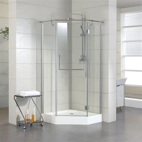 36 Corner Shower by 36 Quot X 36 Quot Alver Neo Angle Shower Enclosure W Tray Right
