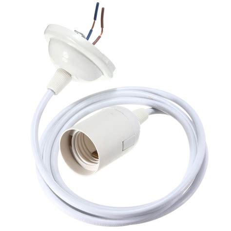 3 Socket Light Fixture E27 White Ceiling Pendant Bulb L Holder Socket Light Fitting Hanging Fixture Ebay
