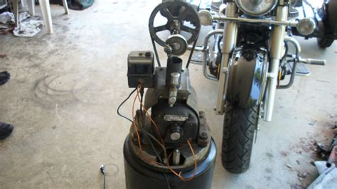 antique air compressor collectors weekly