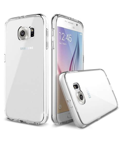 Back Cover Samsung S6 Edge mtt back cover for samsung galaxy s6 edge transparent