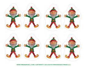 Of christmas elf printable cutouts christmas elf cut out template