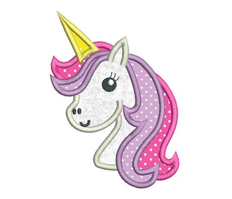 embroidery design unicorn cute unicorn applique machine embroidery design girly unicorn