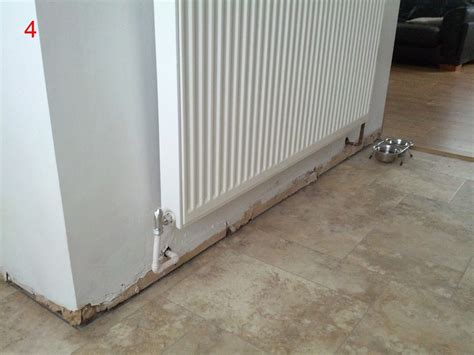 replacement of some and untidy radiator pipework