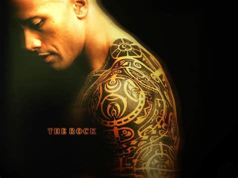 tattoo 3d rock the rock dwayne quot the rock quot johnson wallpaper 7878446