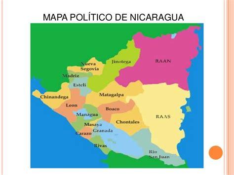 imagenes satelitales nicaragua imagen del mapa politico de nicaragua images