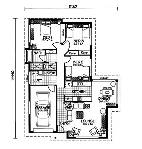 The Wistari 171 Australian House Plans Australian House Blueprints