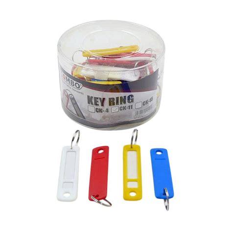 Key Ring Gantungan Kunci jual combo label key ring ck11 set gantungan kunci