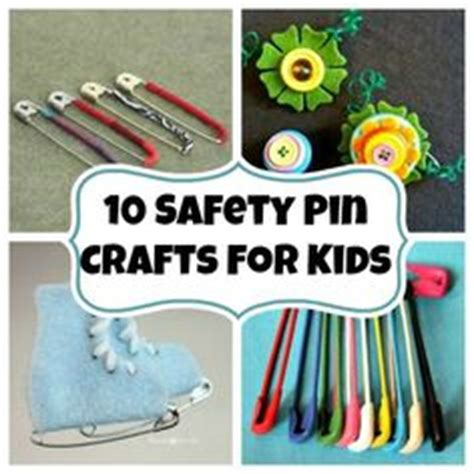 safety pin crafts safety pin crafts on