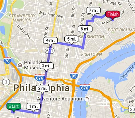 map my run usatf how far did adonis run in creed philadelphia magazine