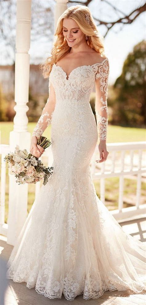 Top 10 Gorgeous Wedding Dresses with Long Sleeves for 2018