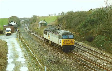 Railway Sleepers Cornwall by Buckshead Tunnel To St Austell Incl