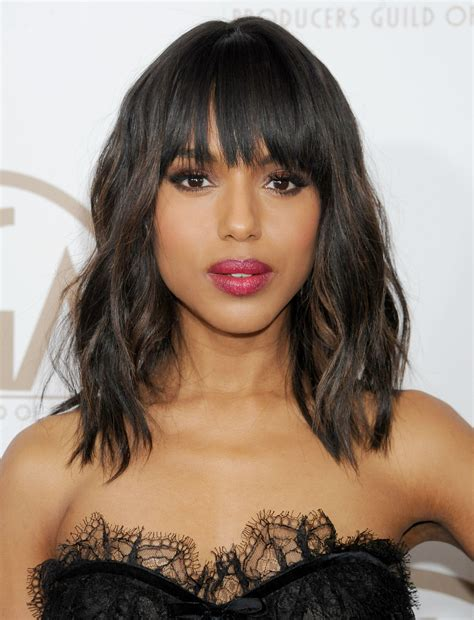kerry washington hair pin up 4 cool fall haircuts you re going to see everywhere