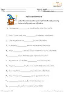 french subject pronouns worksheets spanish indirect