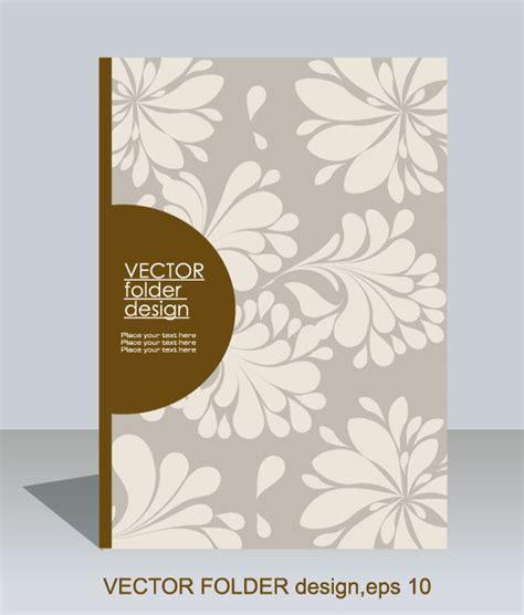 folder layout vector free download folder design vector floral background 02 over millions