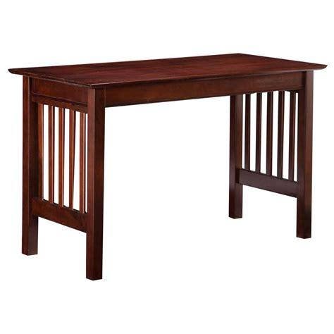 atlantic furniture mission writing desk in walnut ah11214