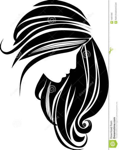 twist hairstyle tools clipart icons hair icon stock vector illustration of elegance