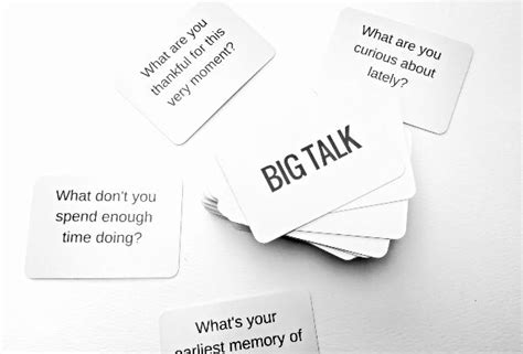 Big Talk Cards
