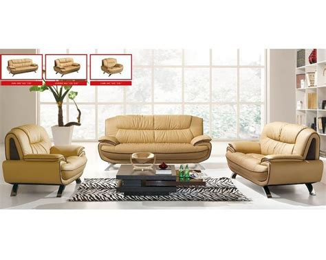 european sofa set european design modern sofa set in light beige finish 33ss71