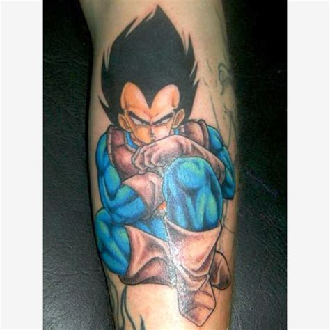 dragonball z tattoo tattoos vegeta the dao of