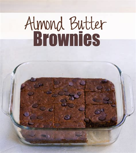 Flourless Brownies Almond And Oat Brownies almond butter brownies flourless vegan