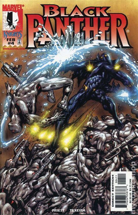 black panther golden book marvel black panther books black panther 1998 marvel 2nd series comic books