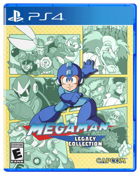 ps4 megaman legacy collection mega legacy collection retail release date confirmed