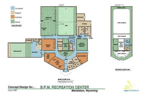 community center floor plan online floor plans