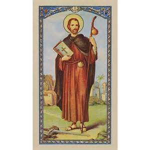 Personalized Jewerly Prayer To St James Prayer Card The Catholic Company