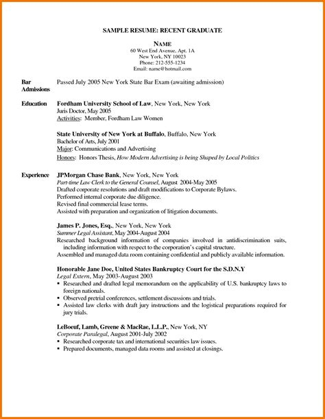 Example Of Secretary Resume by 5 New Grad Nurse Practitioner Resume Assistant Cover Letter