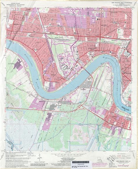 jefferson louisiana map 1979 in louisiana