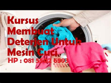 Deterjen Mesin Cuci Front Loading kursus membuat deterjen untuk mesin cuci