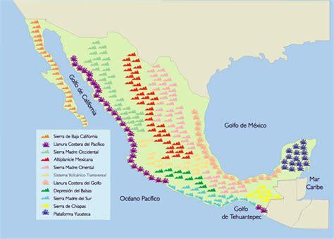 estados unidos mexicanos geograf 237 a econ 243 mica internacional - Cadenas Orograficas Principales De Mexico