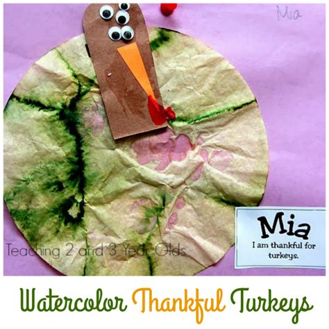 Paper Crafts For 3 Year Olds - 3 paper turkey crafts for