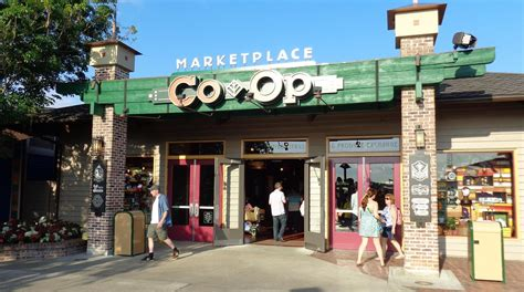 A New Way Of Shopping With Marketplace by Marketplace Co Op Now Open At Downtown Disney Marketplace