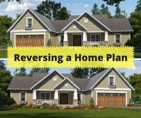 reading house plans how to reverse a house plan right reading reverse option