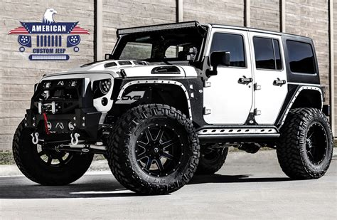 Customize A Jeep All American Limited Edition American Custom Jeep